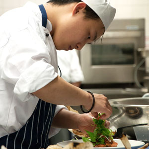 Commercial cookery and hospitality management: exciting, fast-paced global industry