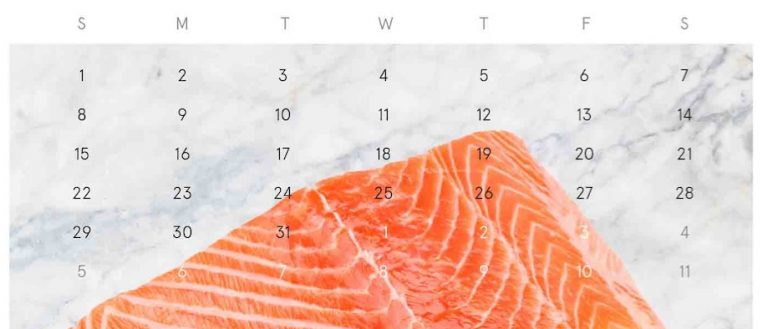 Catch of the Month - Atlantic Salmon