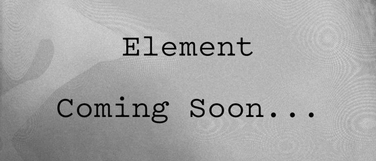 Coming Soon Element